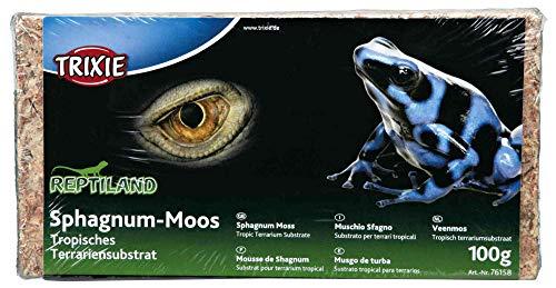 Trixie 76158 Sphagnum Moos, tropisches Terrariensubstrat, ergibt 4,5 l