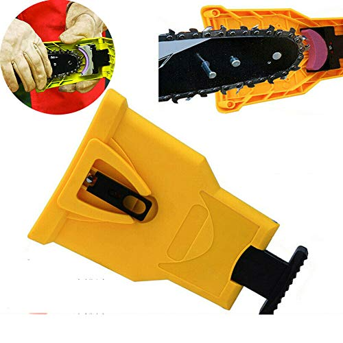 MeterMall kettingzaag tanden slijper PowerSharp Bar-Mount Saw Chain slijpen Systeem Gereedschap