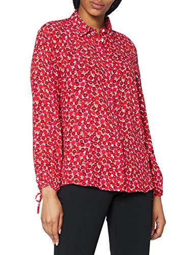 GANT Damen D1. Desert Rose Viscose Shirt Bluse, Rich Pink, 42