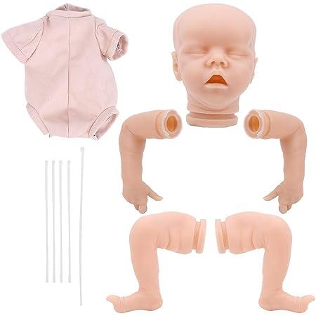 Handmade Reborn Toddler Doe Suede Body for 28inch Reborn Baby Dolls Good Quality