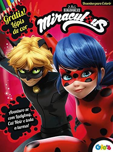 Miraculous Ladybug: Desenhos Para Colorir