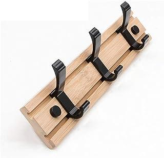 ハンガーとフック 壁掛けボードフックラックコートフック木製の頑丈なコートフックレールオーガナイザーラック用廊下、リビングルーム、浴室ベッドルーム/ 60cm (Size : 30cm)