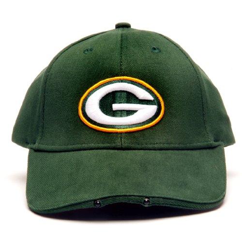 Lightwear NFL Green Bay Packers Dual LED Headlight Adjustable Hat