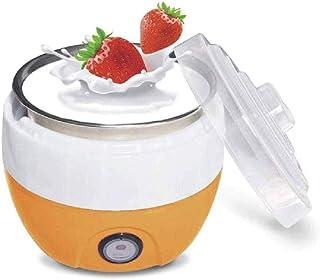 WGNHM Yogurt Maker-Automatic Yogurt Maker, Household Electric Automatic Yogurt Yoghurt Maker Stainless Steel Inner Contain...
