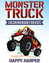 Monster Truck Coloring Book for Kids: A Coloring Book for Boys Ages 4-8 Filled With Over 40 Pages of Monster Trucks