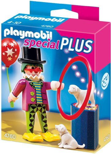 Playmobil 4760 - Clown mit Hundedressur