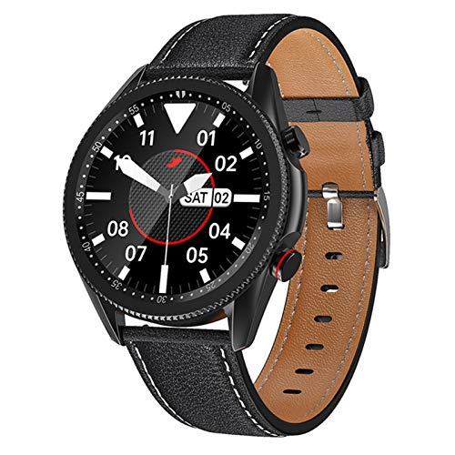 LHL Smartwatch, M98 Pantalla Táctil Completa, Ritmo Cardíaco, Monitor De Presión Arterial, Reloj Bluetooth, Reloj Inteligente para Damas Y Fitness para Hombres,B