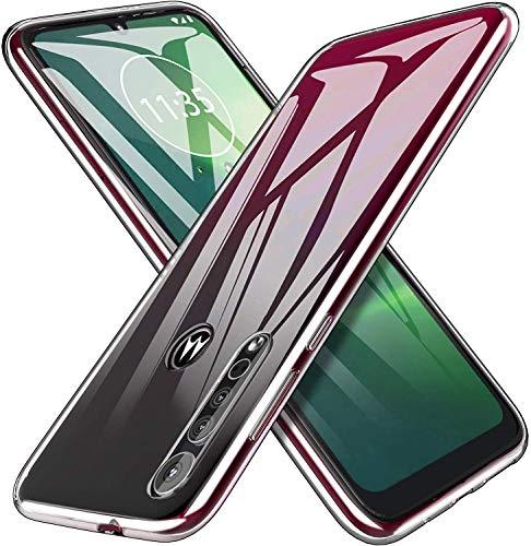 MARR TPU Schutzhülle Kompatibel mit Moto G8 Plus Hülle Klar Crystal Durchsichtige Flexibel Silikon Handyhülle für Motorola Moto G8 Plus - Transparent