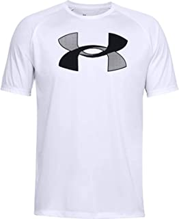 Under Armour Men's Big Logo Tech Short-Sleeve Comfortable and Soft T-Shirt for Men, Short-Sleeved Fitness Clothing with Lo...