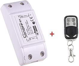 Sonoff RF WiFi Smart Switch + RF Telecomando Controllo remoto Lavora con Google Alexa Home Page di Google