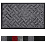 Olanly Original Durable Door Mat, Indoor Outdoor, Easy Clean, Heavy Duty Doormat, Low-Profile
