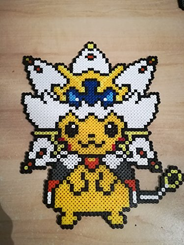 Pixel Art Perler Beads Pokemon Pikachu Solgaleo