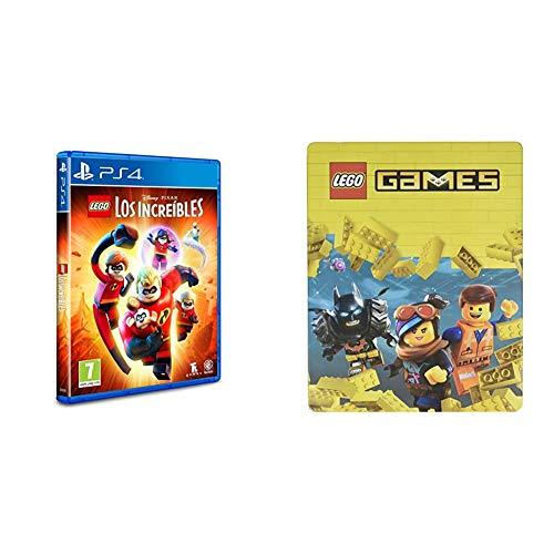 LEGO Los Increibles - Edición Exclusiva Amazon - PlayStation 4  + Steelbook Lego Games