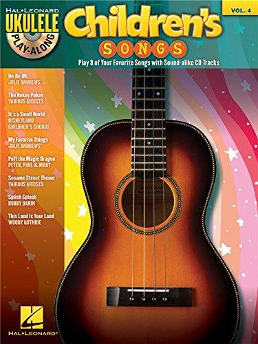 Ukelele Play-Along Volumen 4: Children's Songs. Particiones, CD para Ukelele