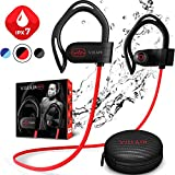【Newest 2020】 Villain Bluetooth Headphones for Running Gym Workout - Wireless...