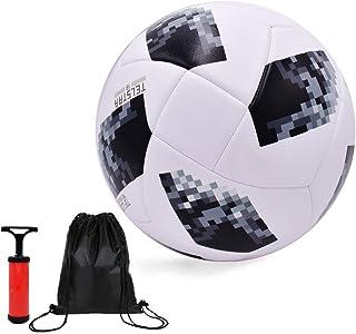 サッカー ボール 4号 小学生用 練習用 レジャー ファミリースポーツ【空気入れポンプ、ボールバッグ付】