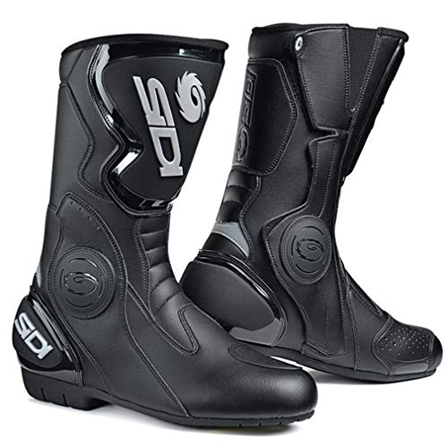 scarpe moto sidi Sidi Black Rain Stivali neri 3