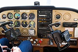 Home Comforts Plane Cessna Sport Airplane Vivid Imagery Laminated Poster Print 24 x 36