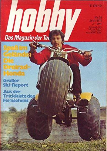 Hobby Spaß im Gelände : Die Dreirad-Honda Nr. 24/1971 24.11.1971
