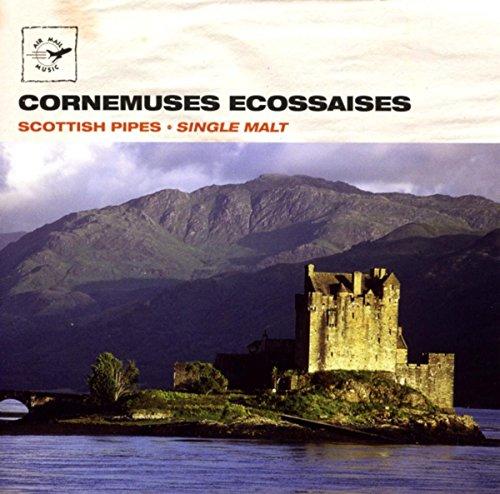 Le CD de morceaux de cornemuse écossaise