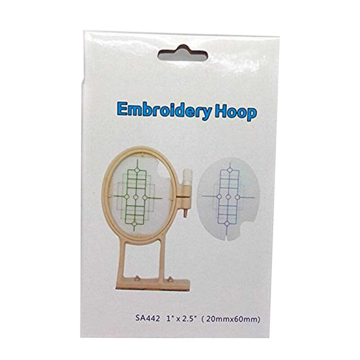 HONEYSEW Small Embroidery Hoop for Brother PE770 PE700 PE700II Machine - Replaces SA442