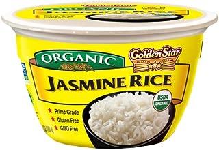 Golden Star Jasmine Rice Microwavable Bowl, Six Pack