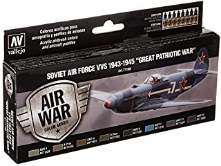 Vallejo Soviet Air Force VVS 1943 to 1945 Great Patriotic War Paint