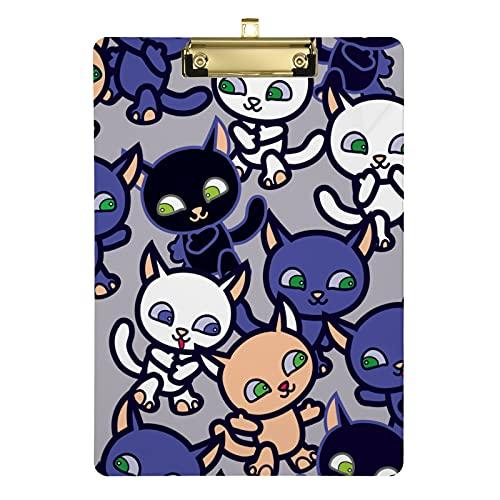 Fox Animal Appunti per bambini uomini donne ragazze design moda lettere formato acrilico clipboards dimensioni standard 31,8 cm x 22,9 cm (20307702)