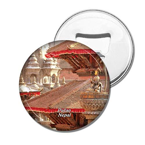 Weekino Patan Durbar Square Nepal Bier Flaschenöffner Kühlschrank Magnet Metall Souvenir Reise Gift