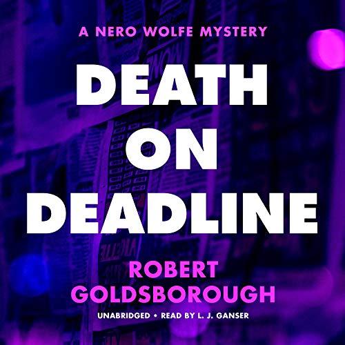 Death on Deadline Audiobook By Robert Goldsborough cover art