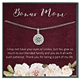 Grace of Pearl Stepmom Gift, My Other Mother, Adopted Mom, Bonus Mom Quote Second Mom, Blended for Bonus Mom from Stepdaughter