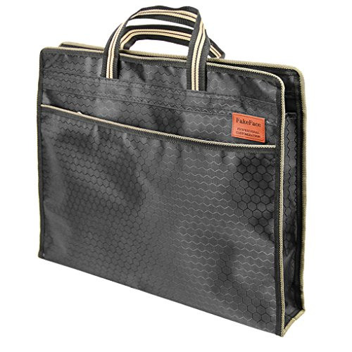 AfinderDE DIN B4 Dokumententasche Businesstasche Business Messenger Bag Aktentasche Arbeitstasche Konferenzmappe Handtasche Schule Tasche Laptoptasche