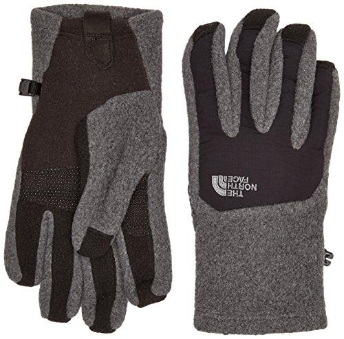 The North Face Men's Denali Etip Glove, Charcoal Grey Heather/TNF Black, XL
