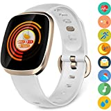 Smart Watch, Fitness Tracker Watch Touch Screen with Blood Oxygen Pressure Heart Rate