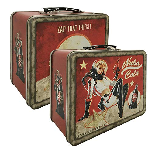 Fallout 4 Nuka Cola Tin Tote (PS4/Xbox One/PC DVD) - Licensing - [Edizione: Regno Unito]