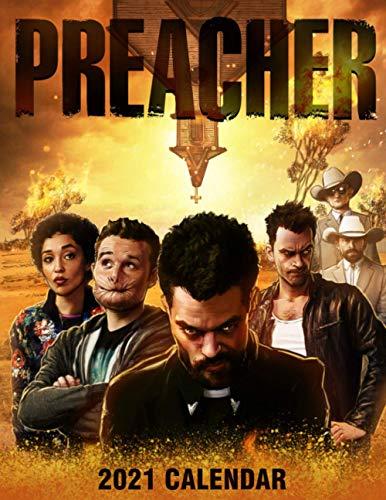 Preacher 2021 Calendar: TV Series 2021 Calendar