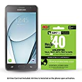 Simple Mobile Samsung Galaxy On5 4G LTE Prepaid Smartphone with Free $40 Airtime Bundle