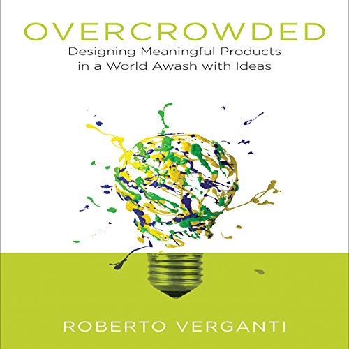 Overcrowded audiobook cover art