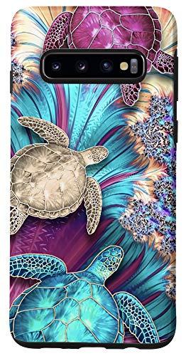 Galaxy S10 Magic Sea Turtles Hawaii Summer Beaches Blue Ocean Case