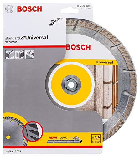 Bosch Professional Diamantdoorslijpschijf Standard for Universal (beton en metselwerk, 230 x 22,23 mm, accessoire haakse slijper)
