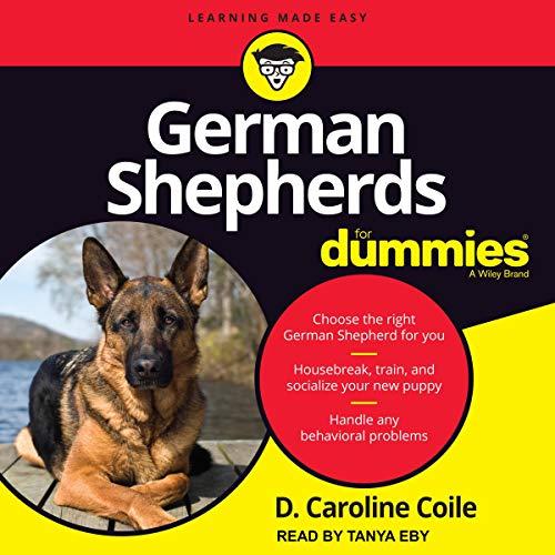 German Shepherds for Dummies cover art