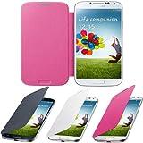 fi9 - Funda con cubierta posterior para Samsung Galaxy Ace 2 GT-I8160 (poliuretano, con protector de pantalla) rosa Galaxy S3 GT-I9300