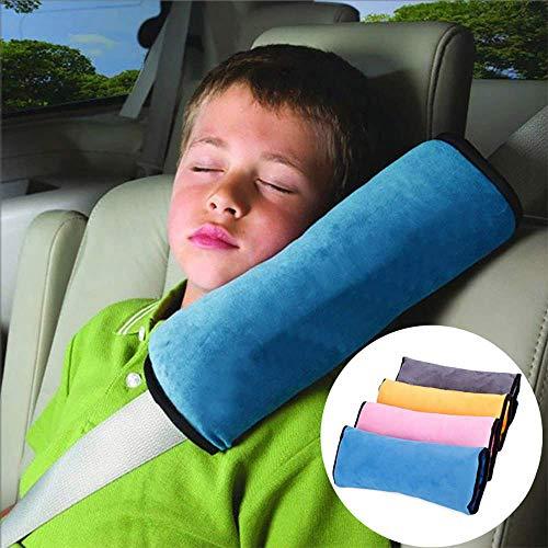 Demarkt Auto Almohada del cinturón de seguridad del coche Proteja hombro almohada cojín amortiguador del vehículo Ajuste del cinturón de seguridad para los niños de los niños 1Pcs