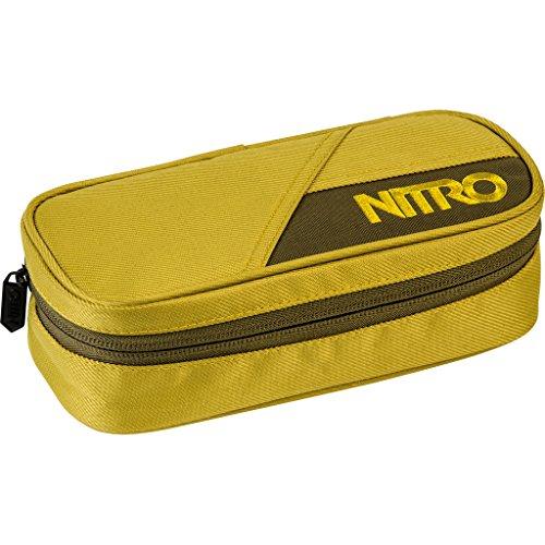 Nitro Pencil Case, Federmäppchen, Schlampermäppchen, Faulenzer Box, Federmappe, Stifte Etui, Golden Mud