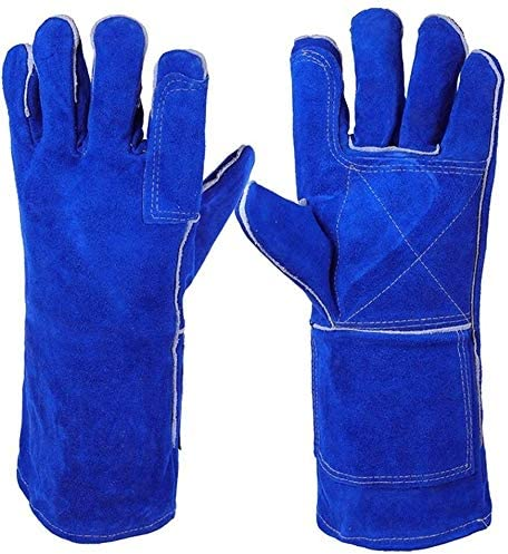 Directly managed store Welding Gloves Heat Proof Leather For Forge Ranking integrated 1st place