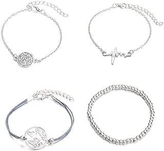 ZQAMZ Mix Turtle Heart Pearl Wave LOVE Crystal Marble Charm Bracelets for Women Boho Tassel Bracelet Jewelry 1122 A2