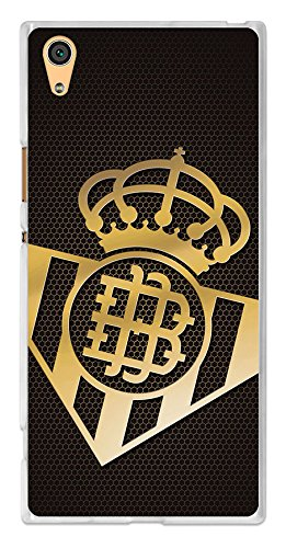 BeCool tpu-sy076-rbb11 – Housse Gel Souple Real Betis balompié pour Sony Xperia XA1 Ultra Design Armoiries 2, Multicolore