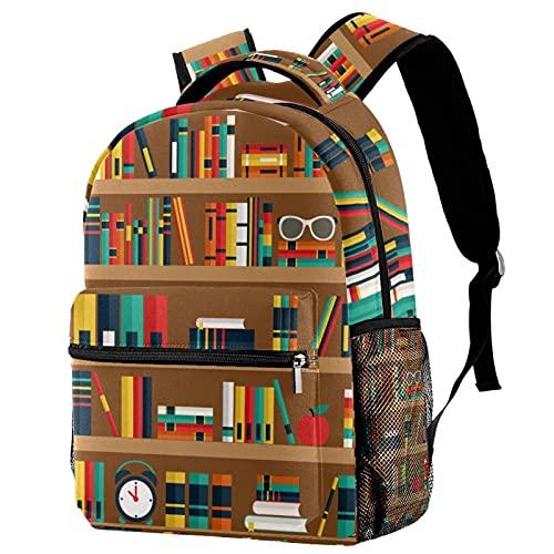School Bookbag Daily Daypack Large Capacity Doctor Bag Diaper Bag Gift for Student Children Classmate Friend Shelves with Books