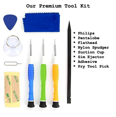 iPhone 4 / 4S / 5 / 5C / 5S / 6 / 6 Plus (GSM/CDMA) Premium 9 Piece Tool Kit