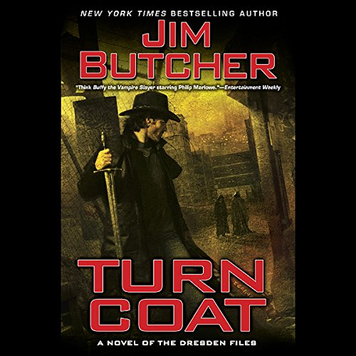 Turn Coat     The Dresden Files, Book 11              De :                                                                                                                                 Jim Butcher                               Lu par :                                                                                                                                 James Marsters                      Durée : 14 h et 36 min     4 notations     Global 5,0